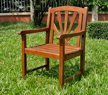 International Caravan Highland Acacia Sapporo Chair