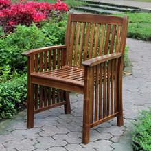 International Caravan Highland Acacia Denver Arm Chair