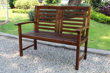 International Caravan Highland Acacia Trinidad Bench