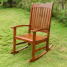 International Caravan Highland Acacia Americana Rocking Chair