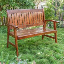 International Caravan Highland Acacia Americana Bench
