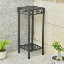 International Caravan Segovia Iron 14-inch Square Plant Stand