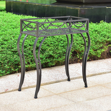 International Caravan Segovia Iron Rectangular Plant Stand
