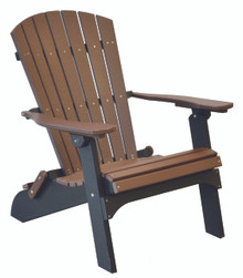 Wildridge Heritage Poly-Lumber Folding Adirondack Chair
