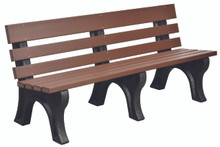 Wildridge Heritage Poly-Lumber Park Bench