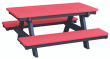 Wildridge Heritage Poly-Lumber Child's Picnic Table
