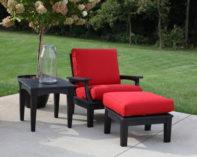 Wildridge Heritage Poly-Lumber 3 Piece Deep Seating Club Chair Set