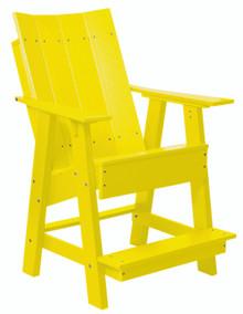 Wildridge Contemporary Poly-Lumber High Adirondack Chair
