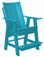 Wildridge Contemporary Poly-Lumber High Adirondack Chair
