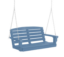 Wildridge Classic Poly-Lumber Classic Two Seat Swing Powder Blue