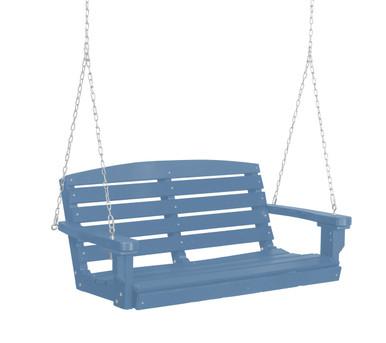 Wildridge Classic Poly-Lumber Classic Two Seat Swing Powder Blue