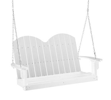 Wildridge Classic Poly-Lumber Savannah Two Seat Swing White