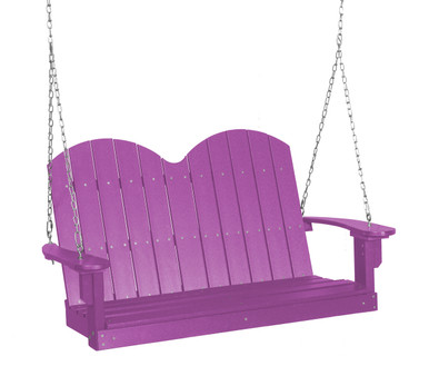 Wildridge Classic Poly-Lumber Savannah Two Seat Swing Purple