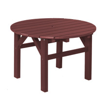 "Wildridge Classic Poly-Lumber 33"" Occassional Table"