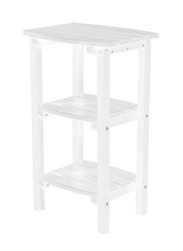 Wildridge Classic Poly-Lumber 3 Shelf Side Table