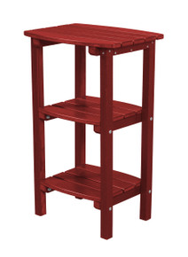 Wildridge Classic Poly-Lumber 3 Shelf Side Table