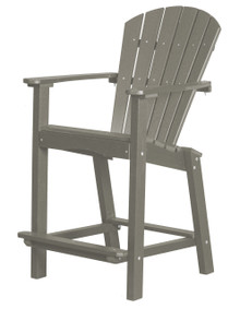 "Wildridge Classic Poly-Lumber 30"" High Dining Chair"