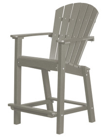 "Wildridge Classic Poly-Lumber 26"" High Dining Chair"