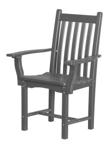 Wildridge Classic Poly-Lumber Dining Side Chair With Arms