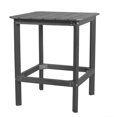 """Wildridge Classic Poly-Lumber 42"""" High Square Dining Table"""