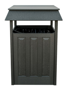 Wildridge Poly-Lumber Trash Can