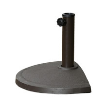 International Caravan Compound Resin Half-Round Umbrella Stand Chocolate