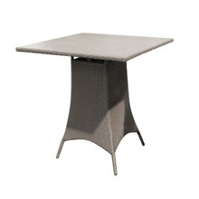 "Forever Patio Barbados 36"" Square Bar Height Table Heather"