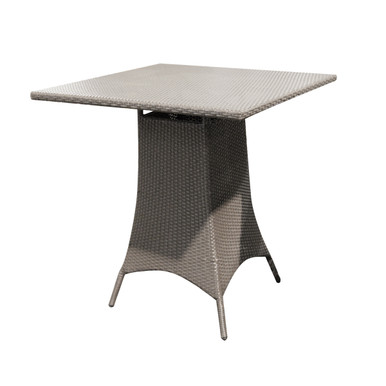 """Forever Patio Barbados 36"""" Square Bar Height Table Heather"""