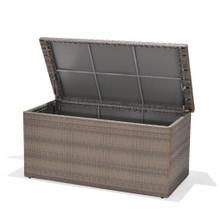 Forever Patio Hampton Wicker Cushion Storage Box