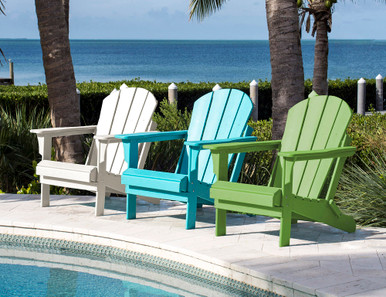 Panama Jack Poly-Resin Adirondack Chair Group