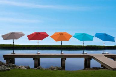 Panama Jack 9 Ft Alum Patio Umbrella W/Crank All