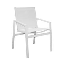 Panama Jack Mykonos Aluminum/Sling Stackable Armchair