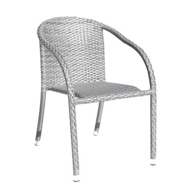 Rattan Athens Stackable Woven Armchair