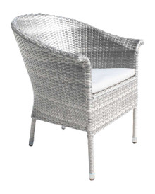 Hospitality Rattan Athens Woven Armchair with Cushion