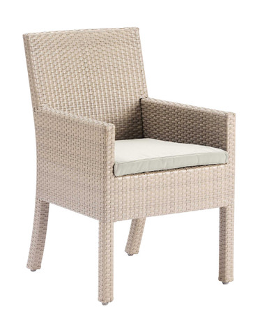 Hospitality Rattan Rubix Stackable Armchair with Cushion