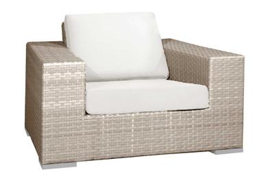Hospitality Rattan Rubix Lounge Chair with Cushion