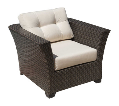 Hospitality Rattan Fiji Lounge Chair with Cushions