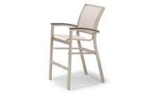 Telescope Casual Bazza Sling Collection Balcony Height Stacking Cafe Chair