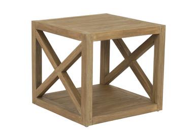 X End Table in Coastal Teak