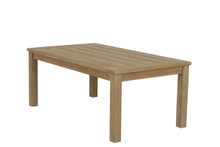 Rectangular Coffee Table in Coastal Teak