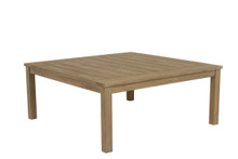 Square Coffee Table in Coastal Teak