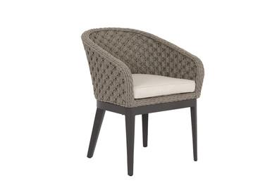 Marbella Dining Chair w/cushions in Echo Ash