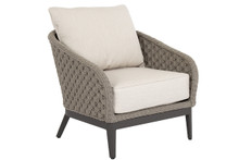 Marbella Club Chair w/cushions in Echo Ash