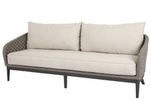 Marbella Sofa w/cushions in Echo Ash