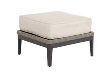 Marbella Ottoman w/cushions in Echo Ash