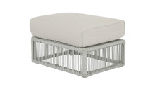 Miami Ottoman with cushions in Echo Ash
