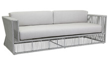 Miami Sofa with cushions in Echo Ash