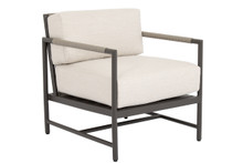 Pietra Club Chair with Echo Ash Cushion