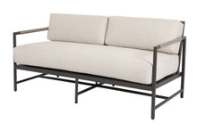 Pietra Loveseat with Echo Ash Cushion
