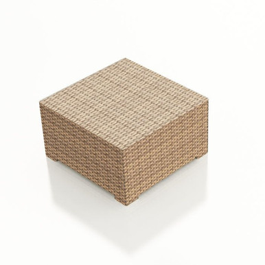 Forever Patio Hampton Wicker Coffee Table Biscuit